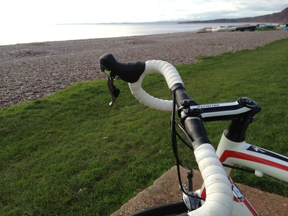 Out Cycling by the Sea